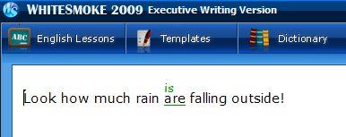 Rain single or plural