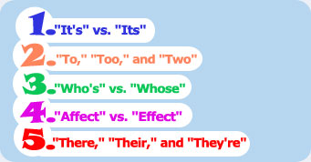 Common Errors in English Usage - Washington State University